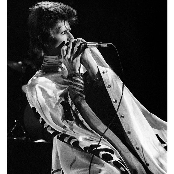 David Bowie,  Earls Court  London, Great Britain - 1973, Ziggy Stardust Tour,  Gijsbert Hanekroot