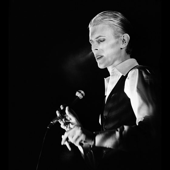 David Bowie, Ahoi Rotterdam - Netherlands, 1976,  Photo Gijsbert Hanekroot